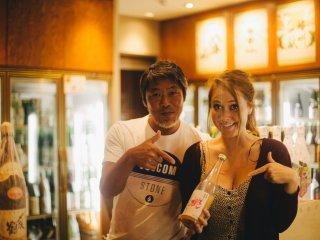 Sake Dâu, loại rượu sake tuyệt nhất mà tôi từng nếm thử trong đời!