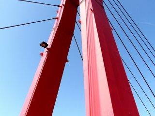 Melihat ke atas Iris Bridge