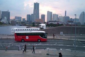 Beautiful Yokohama skyline