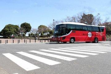 Yokohama by bus