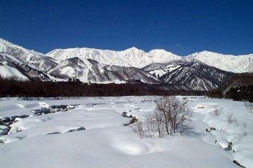 Hakuba snowscape