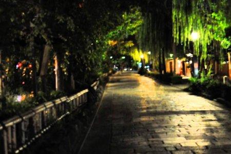 Полночь в Гионе