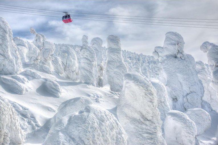 스노우 몬스터(snow monster)로 뒤덮인 도시, 자오