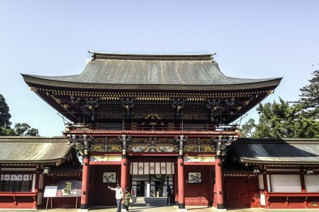 Le Sanctuaire Yūtoku Inari