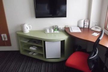 <p>My TV, desk and fridge</p>