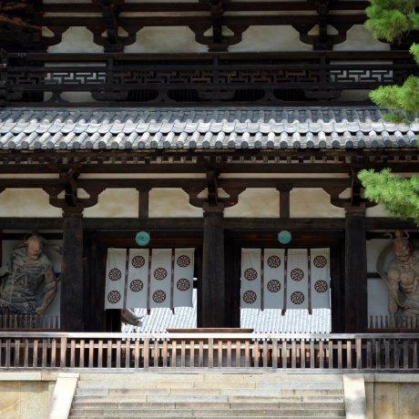 Những tòa nhà gỗ 1300 năm tuổi ở Nara