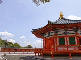Bangunan ini dibangun untuk mengenang Shotoku Taishi, yang merupakan Bapak Budha Orang Jepang