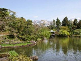Pemandangan #2 Taman di Kuil Naritasan