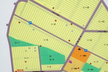 <p>Map of Zoshigaya Reien</p>