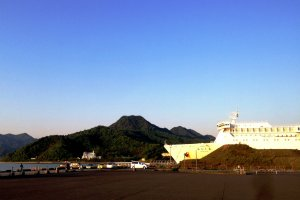 Cruise ships rather than naval ships are more likely to bring visitors to this beautiful port of Maizuru.
