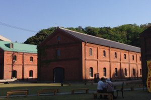 The red brick historical warehouses of Maizuru