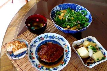 <p>The 5 tofu based meals Miyuki taught me that day</p>