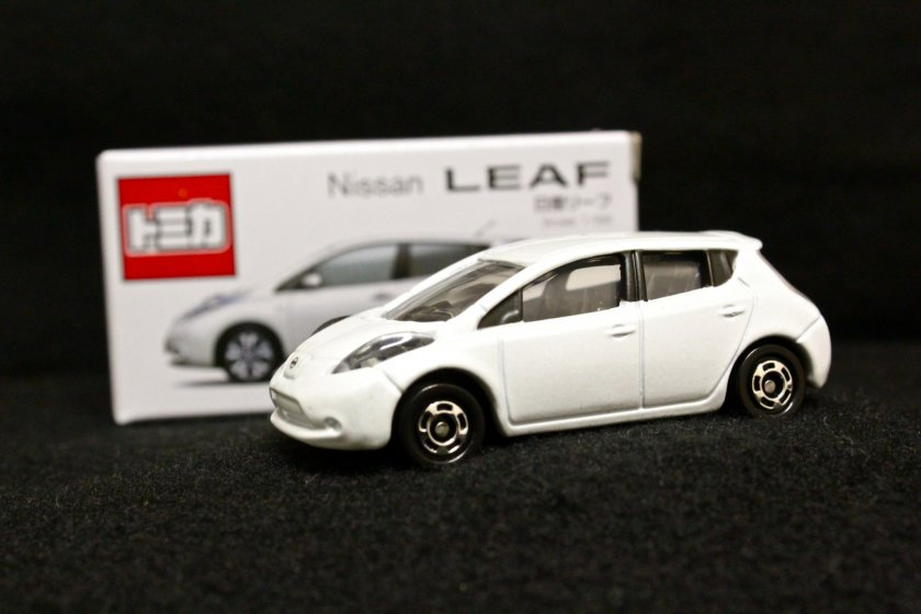 The Nissan Oppama Plant tour ends with a nice cup of tea and a miniature model car souvenir to take home