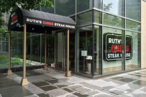 Ruth's Chris Steak House is nestled within the political and administrative heart of downtown Tokyo