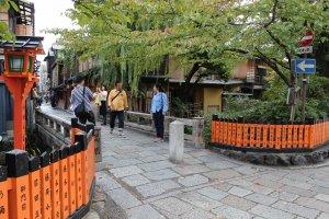 巽橋。祇園町北側