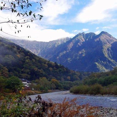 카미코치 타이쇼이케 등산