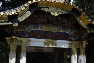 <p>You can find &ldquo;Heron&rsquo;s Fountain&rdquo; within the holy-water basin</p>