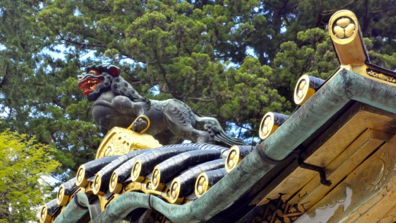 <p>Tsutsuga is a ferocious creature, much stronger than a tiger. Their legs are fastened with gold rings so that they can&rsquo;t escape from here</p>