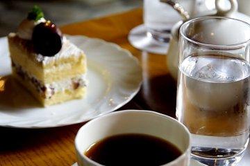 กาแฟชงด้วยน้ำจากเทือกเขาแอลป์ญี่ปุ่น