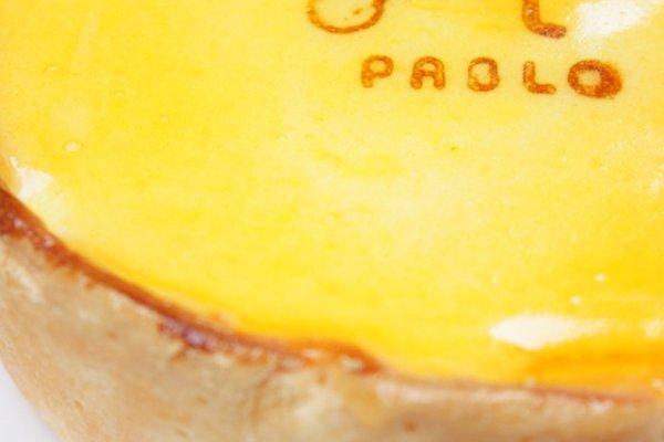 Oven Fresh Cheese Tart (焼きたてチーズタルト / Yakitate Cheese Tart Chizutaruto) ชีสทาร์ตยอดนิยมที่ทางร้าน PABLO ใช้โปรโมท ซึ่งขนมสูตรนี้จะกรอบนอกนุ่มในมีไส้ชีสไหลเป็นลาวาน่าทานทีเดียว