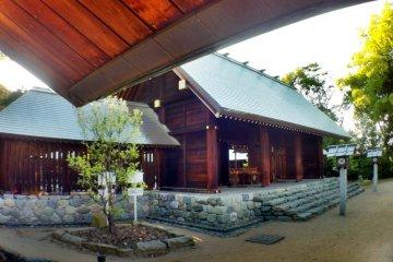 General view of Shinonome Shrine