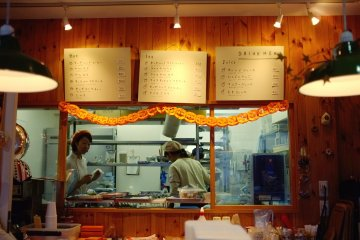 <p>The magic happens behind the counter</p>