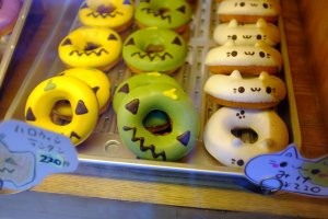 The famous animal-themed donuts. Aren't they the cutest?