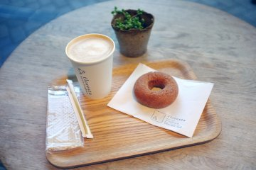 <p>Trust me, one donut is not enough. Try their cinnamon donuts, too!</p>