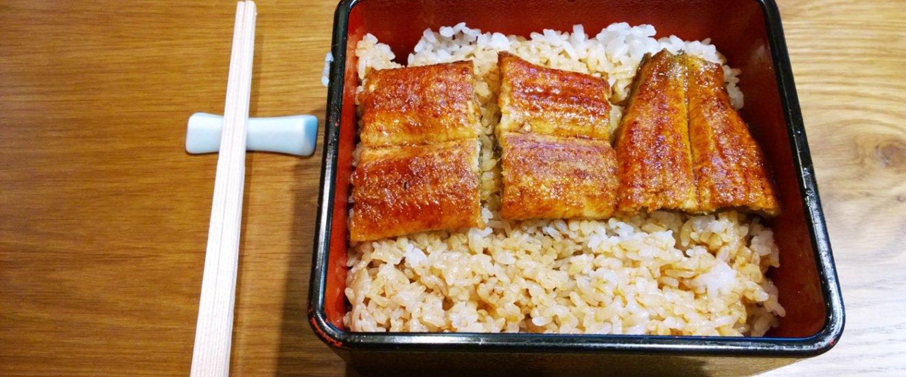 ข้าวหน้าปลาไหลย่างถ่านไม้ของ Honke Shibato (本家柴藤) นั้นเป็นตำรับMamushi แห่งโอซาก้าที่มีประวัติยาวนานกว่า 300 ปี โดยมีวิธีการแร่และย่างปลาไหลที่พิเศษเฉพาะตัวไม่เหมือนใคร มีซอสที่เป็นเคล็ดลับสุดยอดความอร่อย และมีเอกลักษณ์พิเศษซึ่งก็คือการย่างบนถ่านแบบโบราณที่เรียกว่า Binchotan หรือ Binchozumi (備長炭) อันเป็นกรรมวิธีการทำถ่านไม้จาก จ.วากายาม่า ที่ขึ้นชื่อ ซึ่งมีส่วนทำให้ปลาไหลนั้นมีกลิ่นหอมไม่เหมือนใครอีกด้วย