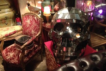 <p>What restaurant isn&#39;t improved by a giant disco skull?</p>