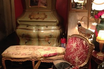 <p>Each piece of furniture tells a story</p>