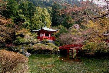 Le Printemps au Temple Daigo-ji