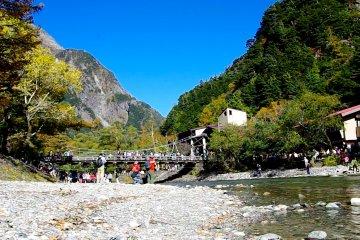 Ponte Kappa-bashi, Kamikochi