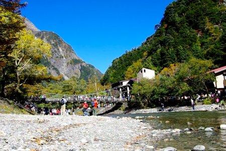 Jembatan Kamikochi Kappa-bashi