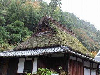 藁葺きの建物は今でも実際に利用されている