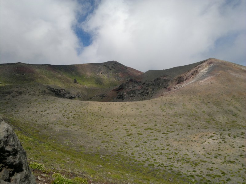 <p>The top crater</p>