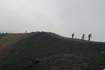 <p>On the way down.</p>