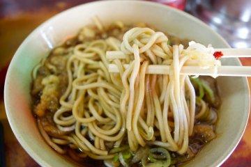 <p>Close up of my tanuki soba - yummy!</p>