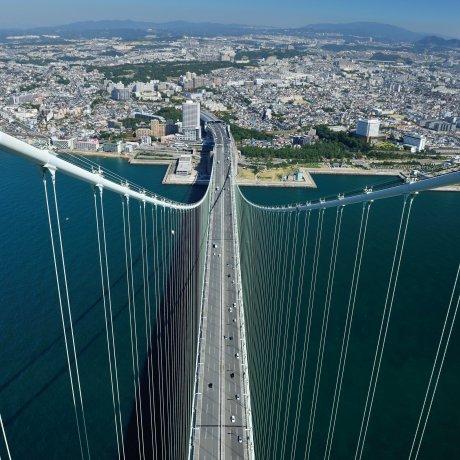 Pemandangan dari Jembatan Akashi