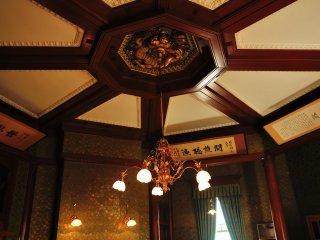 呉錦堂 八角形の楼閣1階