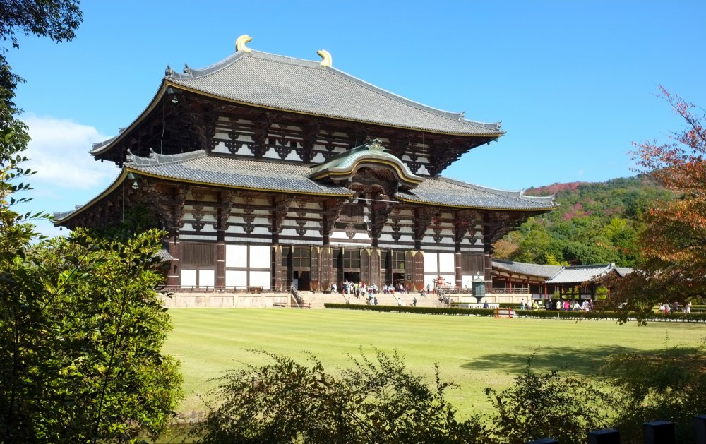 The Great Todaiji Temple - Nara - Japan Travel - Tourism Guide, Japan Map and...