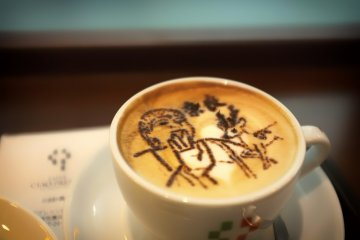 <p>The famous Cappuccino of Nara</p>