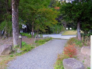 「百間坂」登り口。この坂は大野城へ登る登山道の中で最も急な坂だ。そんなこと知っていたならもちろん選ばなかった!