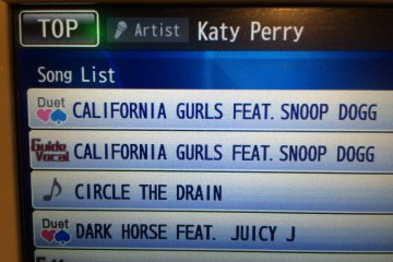 <p>Katy Perry fan? Search by Artist to view all of the songs available.</p>
