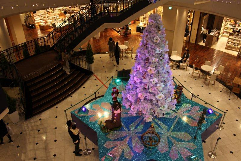 <p>A fantastic Christmas tree in Tapio</p>