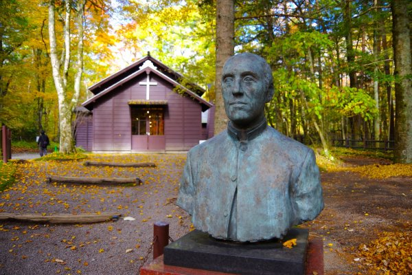 A. C. Shaw and his chapel in Karuizawa