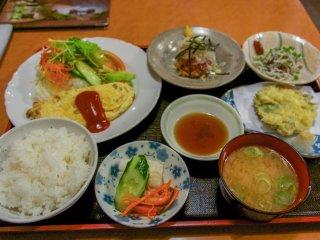 Thực đơn Natto