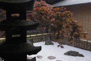 Rock Garden to Stimulate Meditation