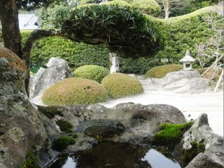 The garden at the Mifune residence