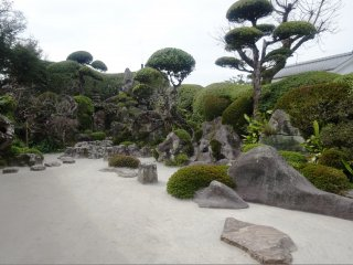 The Keiichiro family garden